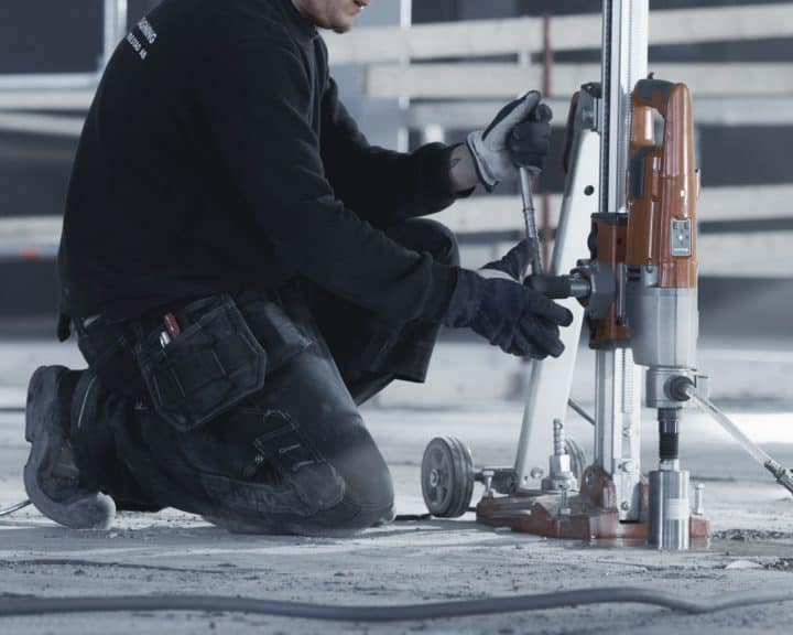 diamond drilling and sawing