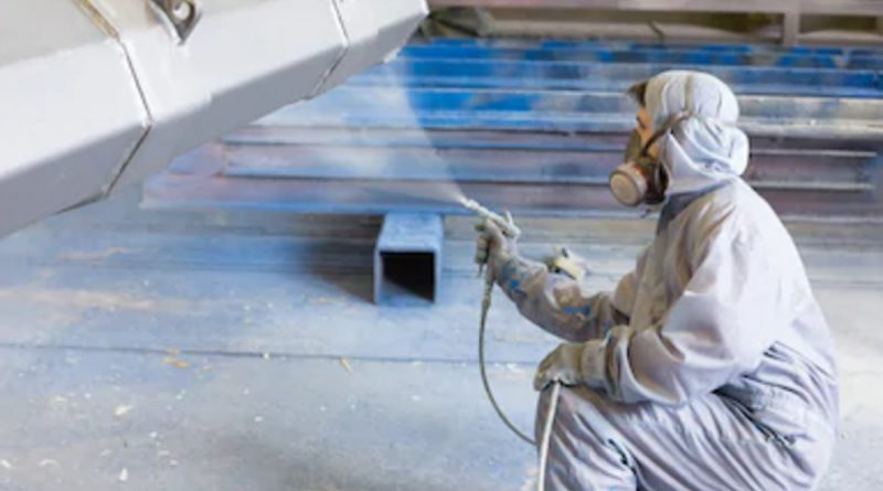 Industrial Spray Painting