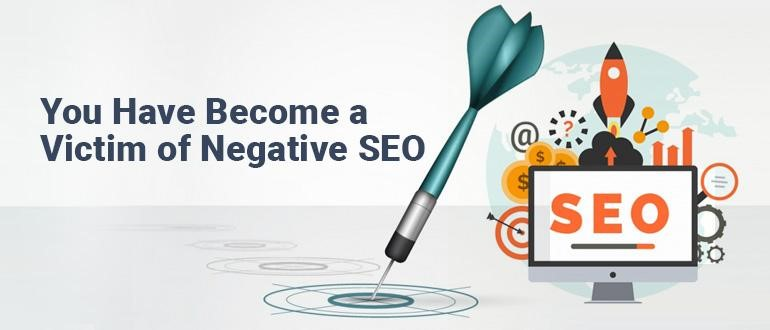 Victim of Negative SEO