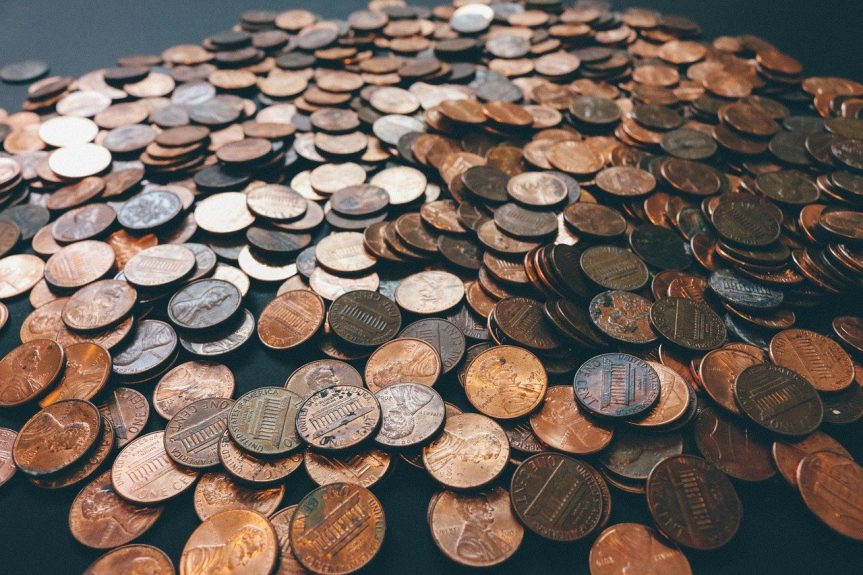 Decorate with Pennies